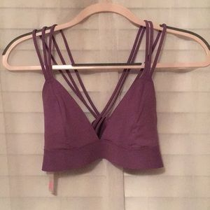 Victoria's Secret purple bralette.